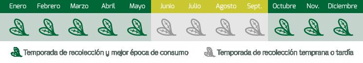 calendario espinacas